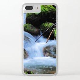 Creek Clear iPhone Case