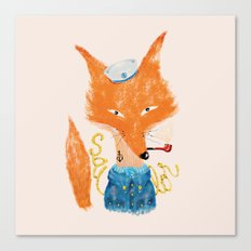 Fox II Canvas Print