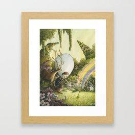 Communion Framed Art Print