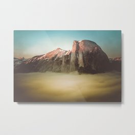 Half Dome Yosemite California Metal Print