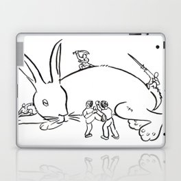 Kuo Shu Rabbit Laptop & iPad Skin