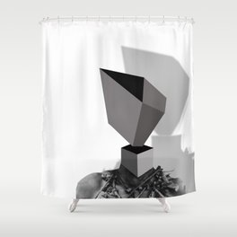 In my head Shower Curtain