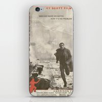 blade runner iPhone & iPod Skins featuring Blade Runner by JAGraphic