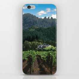Napa Valley - Far Niente Winery, Oakville District iPhone Skin