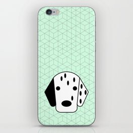 Pop Dog Dalmatian iPhone Skin