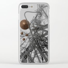 nano-black Clear iPhone Case