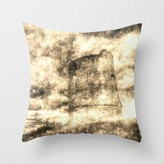 Hadleigh Castle Vintage Throw Pillow