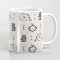 antique Mugs featuring Antique Antiquities by Deborah Panesar Illustration