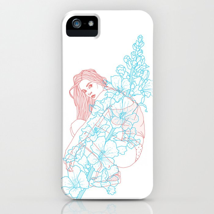 Because a flower is a flower  iPhone Case
