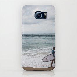Manly Surfer iPhone Case