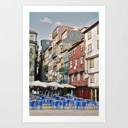 Ribeira do Porto Art Print