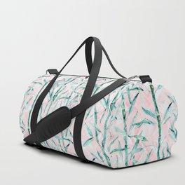 Bamboo on on Blush Background .  #decor #art # society6 Duffle Bag