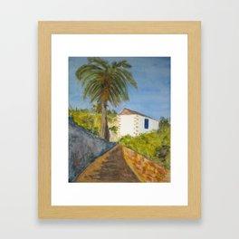 Betancuria´s Typical house Framed Art Print