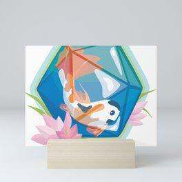 Koi D20 Mini Art Print