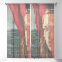 The Black Crown Sheer Curtain