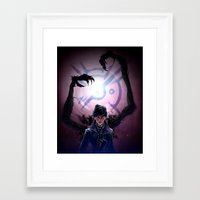 dishonored Framed Art Prints featuring Long Live the Empress by animatenowsleeplater
