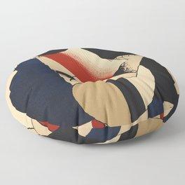 Fernand Léger -  Exhibition poster Berggruen 1979 Floor Pillow