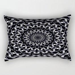 Blueblack Ink Rectangular Pillow