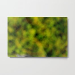 Natural Bokeh Camo Metal Print