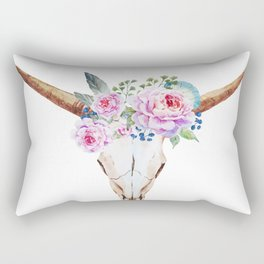 Animal Skull 07 Rectangular Pillow