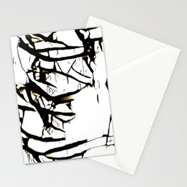 Paint Peeling Stationery Cards