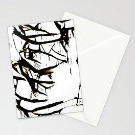 Paint Peeling Stationery Cards
