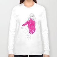 tiffany Long Sleeve T-shirts featuring Tiffany Hwang by Noir0083