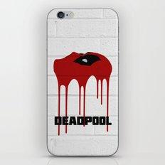 Dead-Pool Alternative Poster iPhone & iPod Skin