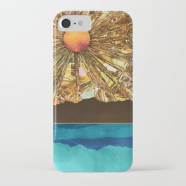 Fractured Sky iPhone Case