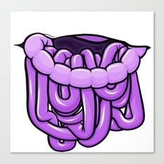 viscera : grape Canvas Print
