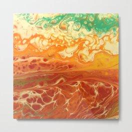 High Tide on Mars Metal Print