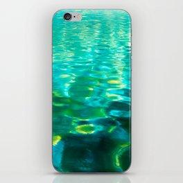 Blue Green Water iPhone Skin