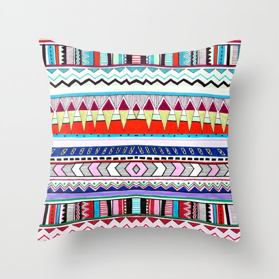 VIVID HUYANA Throw Pillow