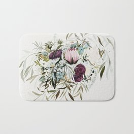 Rustic and Free Bouquet Bath Mat
