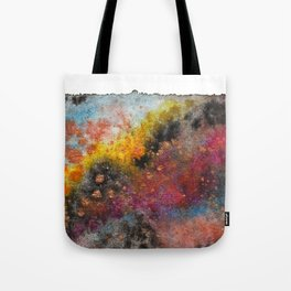 Outside the Galactic Box Tote Bag