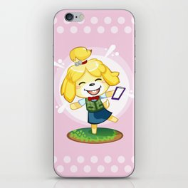 Isabelle Pink iPhone Skin