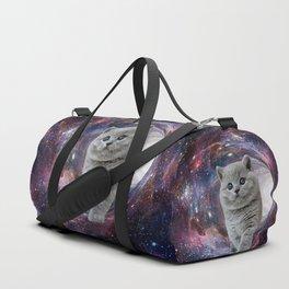 Galaxy Cat Duffle Bag