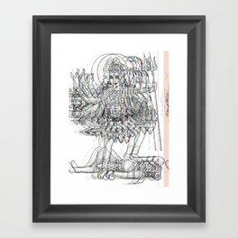 Kali Ma Framed Art Print