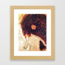 Tresses Framed Art Print