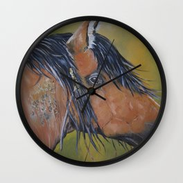 AMERICAN MUSTANG  Wall Clock