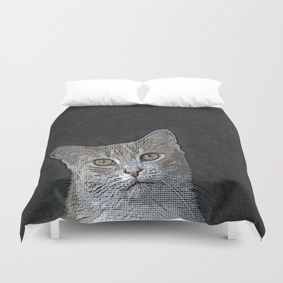 Pretty Kitty Duvet Cover