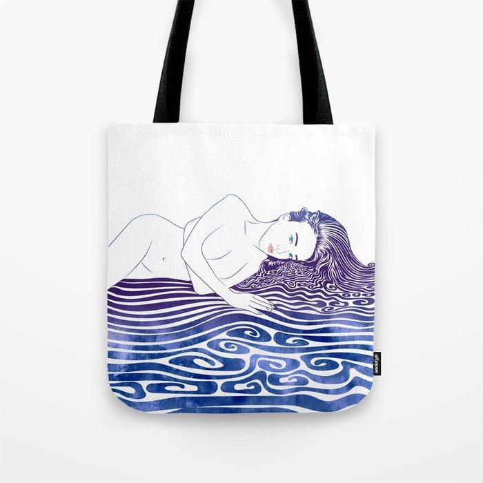 Water Nymph XLI Tote Bag