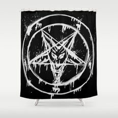 Stanic Pentagram Shower Curtain