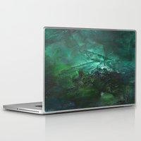 emerald Laptop & iPad Skins featuring Emerald by Judy Applegarth