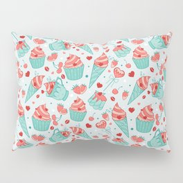Valentine's sweets - Pastel Pillow Sham