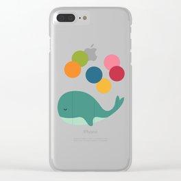 Dream Walker Clear iPhone Case