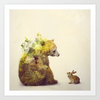 spring Art Prints featuring Spring by Daniel Taylor