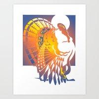 turkey Art Prints featuring Turkey by David Chestnutt