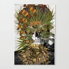 Toxicity 1 - Collage art by bedelgeuse Canvas Print