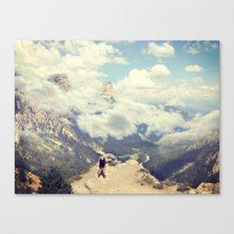 SmokeyMountains Canvas Print
